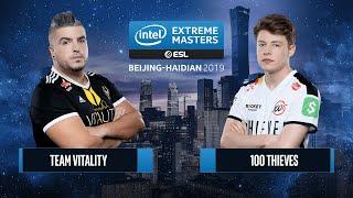 CS:GO - 100 Thieves vs. Team Vitality [Inferno] Map 3 - Semifinals - IEM Beijing-Haidian 2019