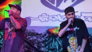 """TIRO DE GRACIA - """"Viaje Sin Rumbo + Corsario Universal"""" (Bar El Clan - Santiago 15-04-2017)"""