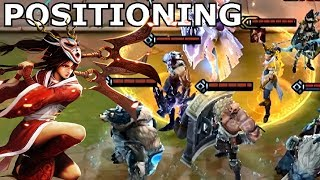 COUNTERING ASSASSINS By POSITIONING   Teamfight Tactics Strategy Guide With Rangers + Tanks Lol TFT