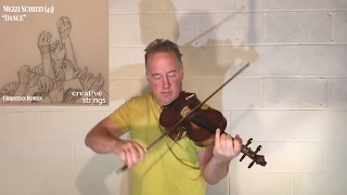"Improvisation for Unaccompanied Violin #13- ""Dance"""