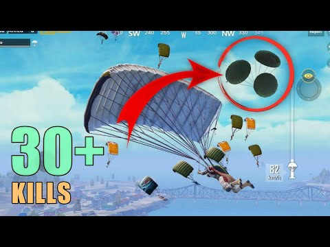 SUPER FAST FLARE DROP | 30+ KILLS | PUBG MOBILE