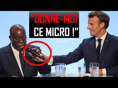 Ce Président Africain a Mis La Pression à Macron [Discours Choc]   H5 Motivation Ce Président Africain a Mis La Pression à Macron [Discours Choc]   H5 Motivation