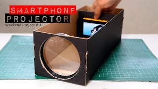 Build A Smartphone Projector! (Using Shoebox)