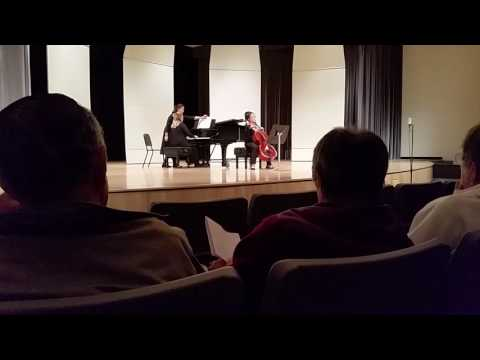Beethoven 2nd Cello Sonata in G Minor Accompanying my great friend Caroline Chien.