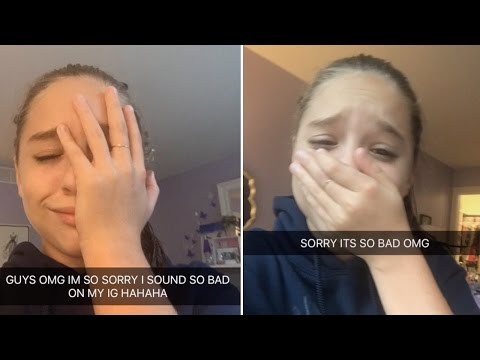 Mackenzie Ziegler's Snapchat Gets HACKED | Full Video