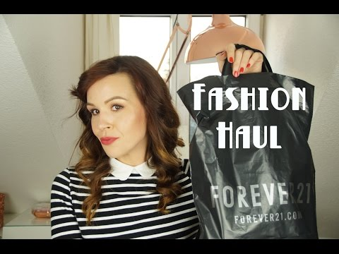 Fashion Haul Herbst/Winter 2015 + Try on (zara, forever 21, h&m, promod)