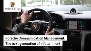 The All-new Porsche Infotainment