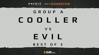 Cooller vs Evil - GROUP A (Road to Quakecon 2015)