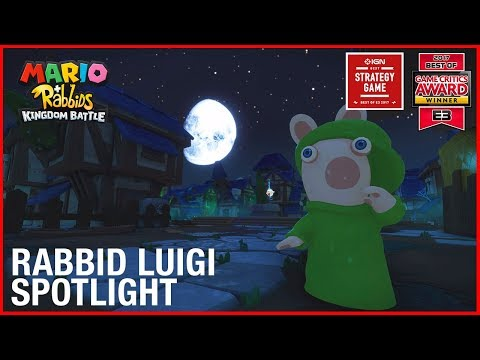 Mario + Rabbids Kingdom Battle: Rabbid Luigi Character Spotlight | Gameplay Trailer | Ubisoft [US] thumbnail