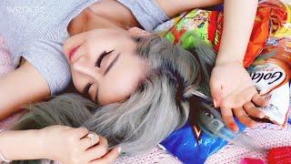 Australian Chinese Tries American Snacks ♥ 13 Snacks in 5 Minutes ♥ Wengie