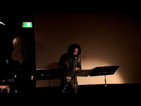 Jason Alder, bass clarinet - Castillo Trigueros- Monólogo Fantástico