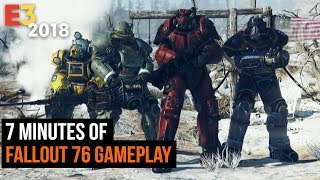 7 Minutes of Fallout 76 Gameplay - E3 2018 - dooclip.me