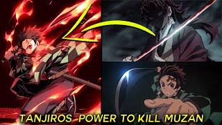 Muzan Kibutsuji  - (Demon Slayer: Kimetsu no Yaiba) - Tanjiro Kills Muzan With The Red Nichirin Sword? Demon Slayer Theory (Kimetsu no Yaiba)