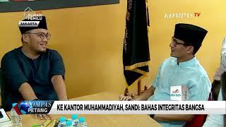 Ke Kantor Muhammadiyah, Sandi: Bahas Integritas Bangsa