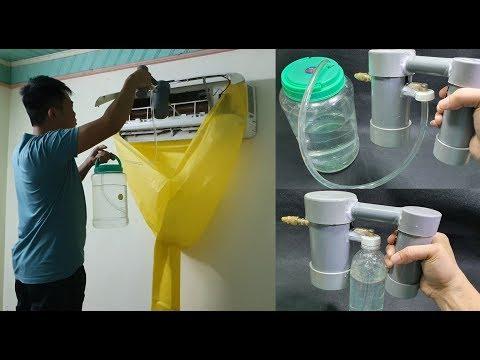 Build a Mini High Pressure Washer using PVC pipe