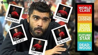 TIER LIST : MANCHESTER UNITED FULL SQUAD!