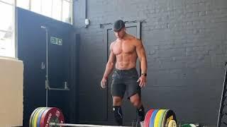 Ollie Marchon 200kg Deadlift