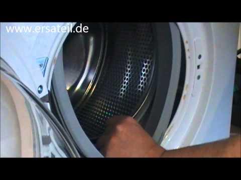 Video-Anleitung: Waschmaschine Dichtung wechseln