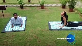 Cours de Yoga débutant au Nattika beach ayurveda resort