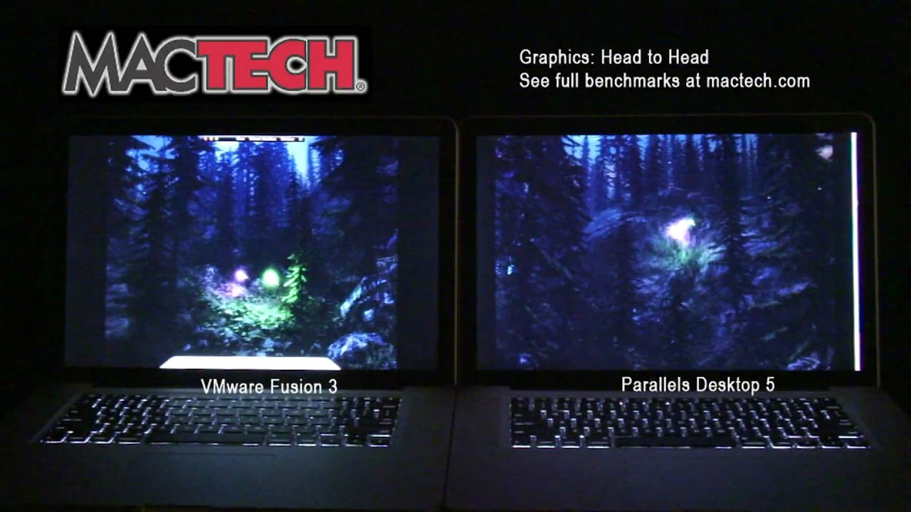 Parallels Thrashes VMware Fusion When It Comes To Graphics