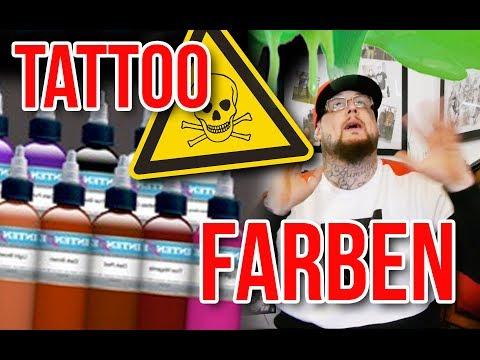 Tattoofarbe - gefährlich!? Was ist drin und dran an Tattoo Farbe ⎮ Max Cameo