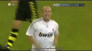 BvB vs. Real Madrid - 0:2 - Robben Super Goal