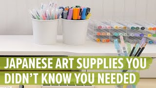 5 Types Of Japanese Art Supplies You Didnt Know You Needed