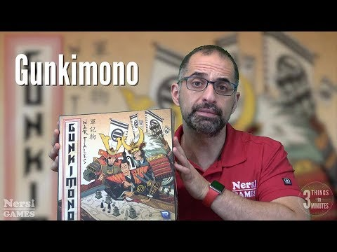 3 Things in 3 Minutes: Gunkimono Review
