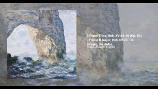 3 Piano Trios, Hob. XV:24-26 (Op. 82)