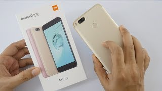 Xiaomi Mi A1 Android One Smartphone Unboxing & Overview