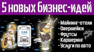 Новые идеи для малого бизнеса - 5 бизнес идей которых нет в России или только появляются