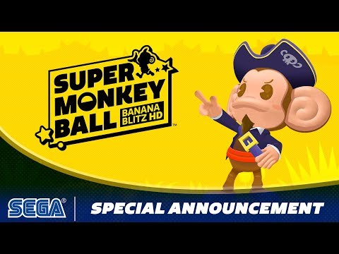 Super Monkey Ball: Banana Blitz HD | Special Announcement!