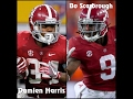 Damien Harris & Bo Scarbrough ||