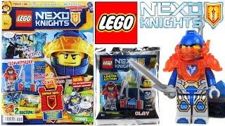 Журнал Лего Нексо Найтс №1 Январь 2017 | Magazine Lego Nexo Knights №1 January 2017