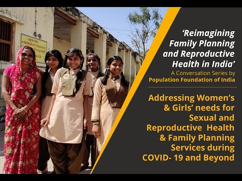 Webinar | Addressing Women's & Girls' Needs for Sexual and Reproductive Health & Family Planning  Services during COVID-19 and Beyond