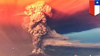 Volcano eruption: Calbuco volcano erupts twice forcing at least 4,000 people to evacuate town