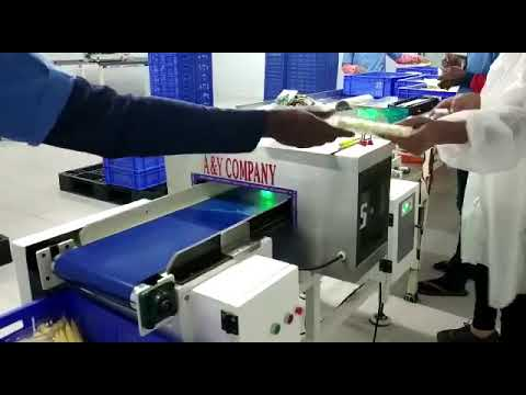 Food Metal Detector Conveyor