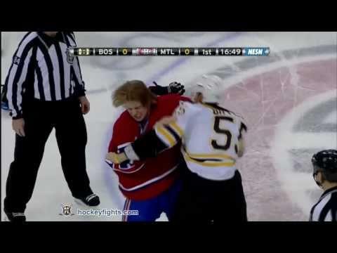 Johnny Boychuk vs Ryan White