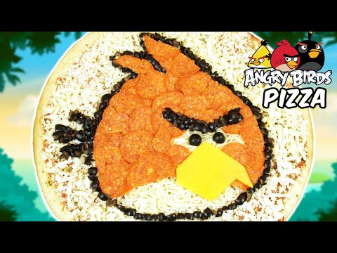 HOW TO MAKE ANGRY BIRDS PIZZA – NERDY NUMMIES