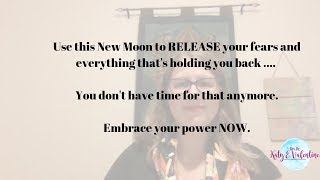 Use this New Moon to Release Your Fears