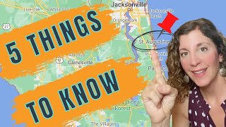 Living in St Augustine FL? 5 Things You Need to Know...