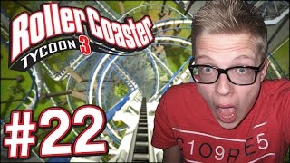 Rollercoaster Tycoon 3 - SUPER AWESOME ACHTBAAN! - Deel 22
