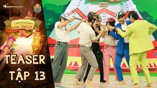Thiên đường ẩm thực 6 | Teaser Tập 13: Lynk Lee toát mồ hôi khi đương đầu với Lu An, Thành Đạt