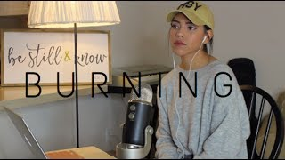 BURNING - Sam Smith Cover by Nandy Martin