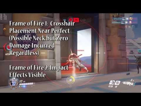 這一個影片解釋延遲/Tickrate 對即時射擊角色的影響