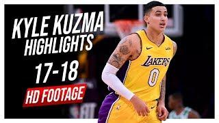Lakers PF Kyle Kuzma 2017-2018 Season Highlights ᴴᴰ