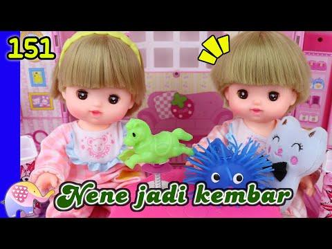Mainan Boneka Eps 151 Nene Jadi Kembar, Buka Pop Toy - GoDuplo TV