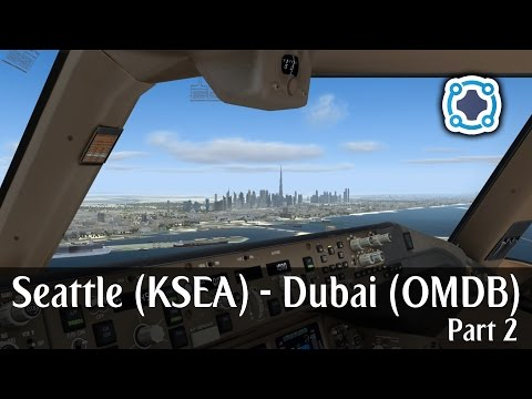 Prepar3d V4 - Emirates 777-300ER - Dubai to Maldives (OMDB