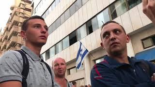 Ультиматум «беженцев» из Украины--- полиции Израиля.(комики)