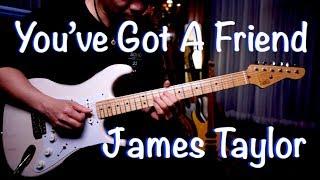"""Video thumbnail of """"(James Taylor) You've Got a Friend - Vinai T guitar cover version"""""""